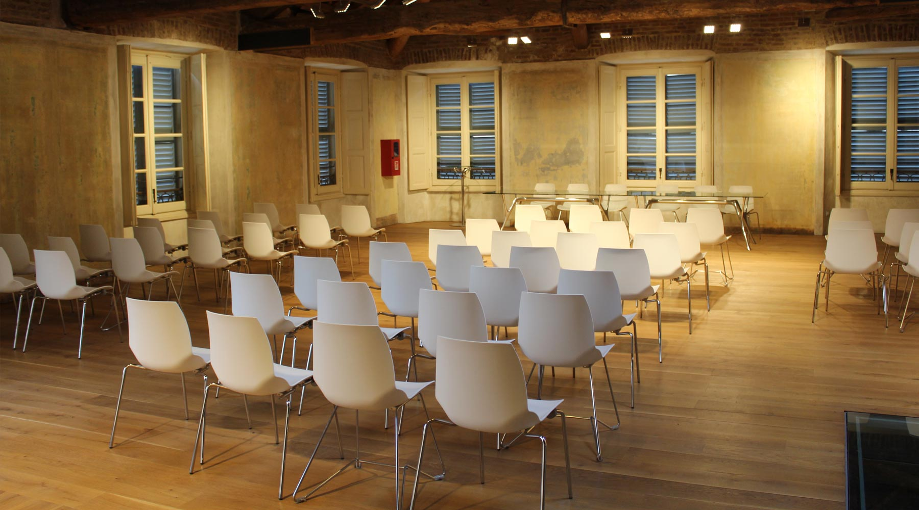 Training - chairs in a room