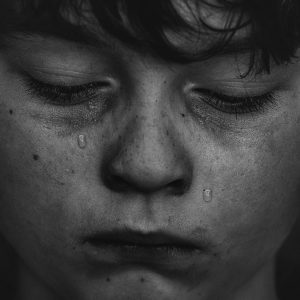 training_ Attachment for Foster Carers 2 day - sad little boy